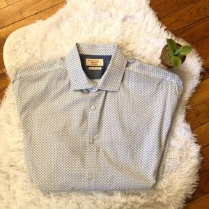 Penguin heritage slim fit button down long sleeve